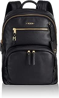 Voyageur Hagen Leather Laptop Backpack - 12 Inch Computer Bag For Women - Black