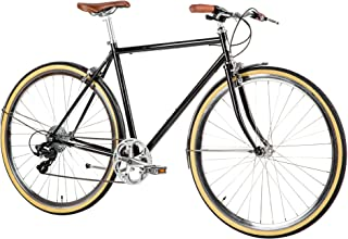 Populo Bikes Legend 8-Speed Classic All City Bike Steel Urban City Commuter Bicycle