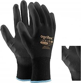 24pares de guantes de trabajo de nailon negro