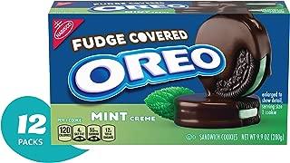 OREO Fudge Covered Mint Cookies, Twelve 9.9 Oz. Packages