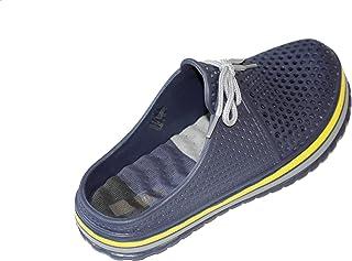 Amamara-Global BE0523-T1 Men's Sabot Slipper Clogs Mules Bathing Shoes Slippers Summer