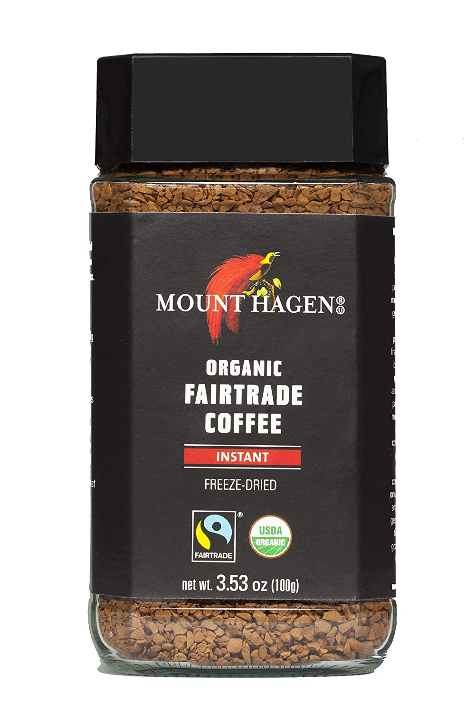 mount hagen organic single serve instant coffee