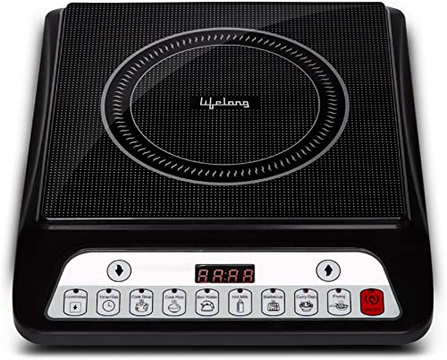 Lifelong Inferno LLIC30 2000 Watt Induction Cooktop Black