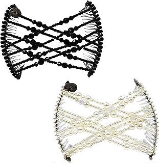 双包装(黑珍珠色)- 双梳发夹