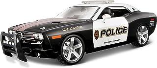 مايستو مجسم سيارة دودج تشالنجر سيارة شرطة ,متعدد الالوان ,090159313656