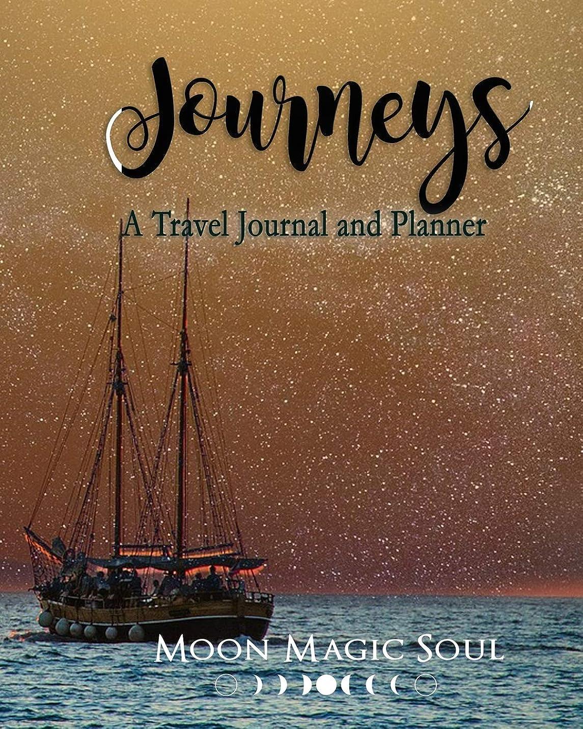 役立つナサニエル区剛性Journeys: A Travel Journal and Planner