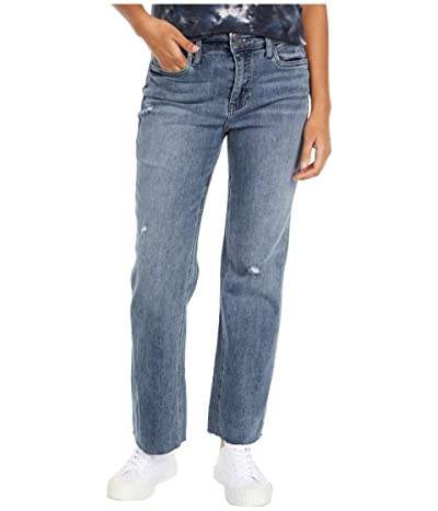 KUT from the Kloth Kelsey High-Rise Ankle Flare Inset Leg in Mastermind (Mastermind Wash) Women