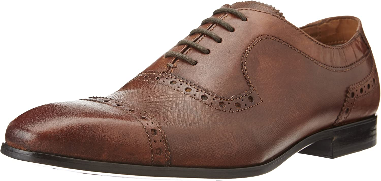 Ruosh Men's Tan Leather Indian - 9 UK India (43 EU)