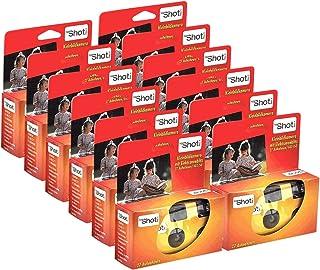 TopShot 400 cámaras Desechables con Flash Integrado (Paquete de 12 Cámara 27 Fotos)