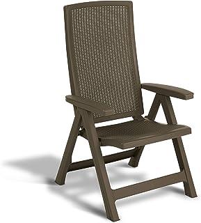 Keter -  Silla reclinable de jardín exterior Montreal,