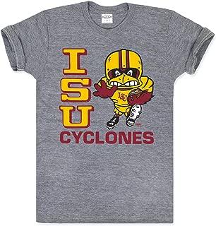 Charlie Hustle Unisex Vintage Grey Iowa State Running Cy T-Shirt