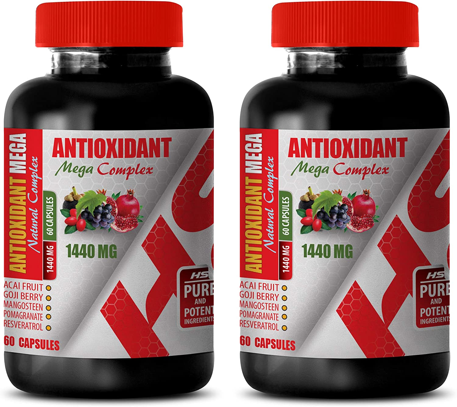 Heart Support Supplement - Max Free Shipping Cheap Bargain Gift 86% OFF ANTIOXIDANT Complex Natural 1440 MEGA