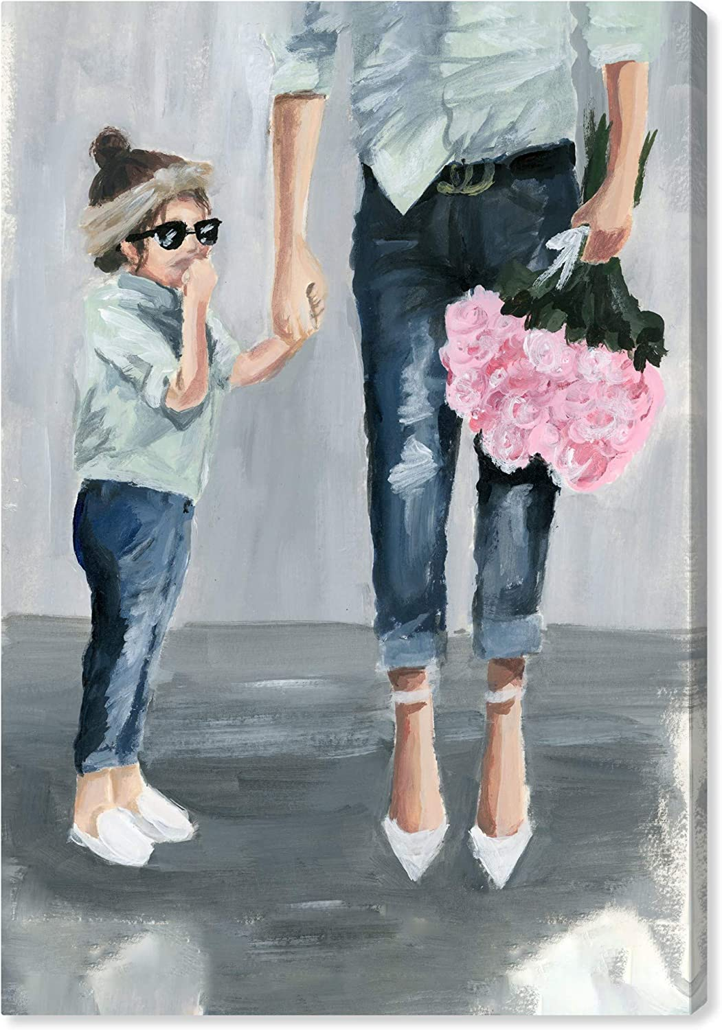 Wynwood Studio Cheap Glam Wall Art Spring new work Canvas Mommy Fashion Me' and Prints