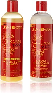 ARGAN OIL FROM MOROCCO INTENSIVE CONDITIONING TREATMENT & SULFATE FREE SHAMPOODEAL