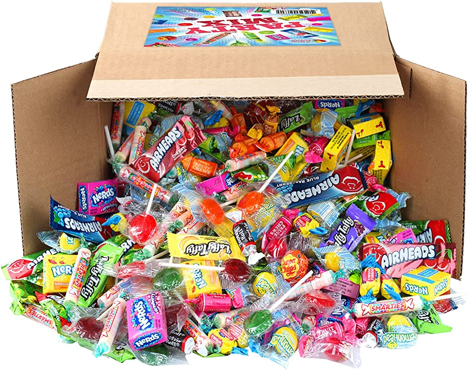 A Great Surprise Assorted Candy Mix - 6 Pound BOX - Individually Wrapped Candies