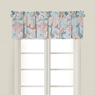 C&F Home Dancing Waters Valance Set 2 Valance Set of 2 Blue