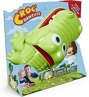 Hasbro Croc' Dentiste - Jeu de société pour les petits - Jeu fun - Version française