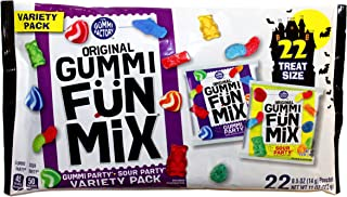 The Gummi Factory Original Gummi Fun Mix Variety Pack with 22 Treat Size Pouches