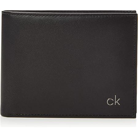 Calvin Klein - Smooth CK 5 CC Coin, Monederos Hombre, Negro (Black), 0.1x0.1x0.1 cm (B x H T)