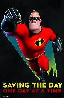 Trends International Disney Pixar 2-Mr. Incredible Wall Poster, 22.375