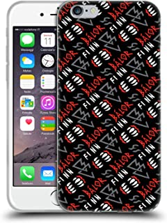 Official WWE Pattern 2017 Finn Balor Soft Gel Case Compatible for iPhone 6 / iPhone 6s
