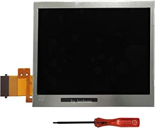 lenboes Original Bottom Lower LCD Screen Display Replacement for Nintendo DS Lite DSL NDSL with Opening Tool