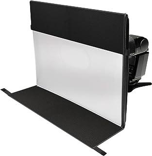 LumiQuest StripBox LTp 2 in 1 Softbox und StripBox mit UltraStrap Bundle   Soften Shadows Flash Lighting, vergrößert die Lichtquelle   Perfekt für Press  und Fotografiebeleuchtung (weiß/schwarz)