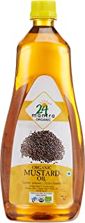 24 Mantara 24 Mantra Organic Mustard Oil - 33.81 Ounce ,, ()