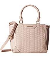 Rampage Quilted Snake Mini Satchel