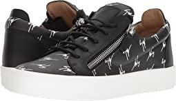 Giuseppe Zanotti May London Logo Low Top Sneaker