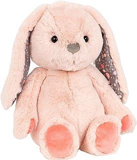 B. toys by Battat Happy Hues – Butterscotch Bunny – Soft & Cuddly Plush Bunny – Huggable Stuffed Animal Rabbit Toy ...