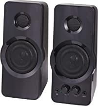 Blackweb Multimedia Computer Speaker, Set of 2