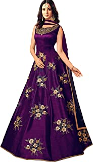 Purples Women S Ethnic Gowns Buy Purples Women S Ethnic Gowns
