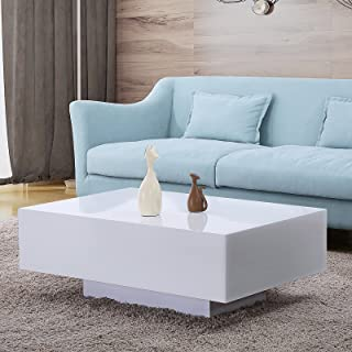 Amazon.com: White - Tables / Living Room Furniture: Home & Kitchen