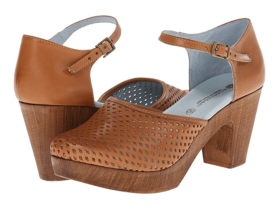 60s Shoes, Boots | 70s Shoes, Platforms, Boots Eric Michael Sadie Tan High Heels $130.00 AT vintagedancer.com