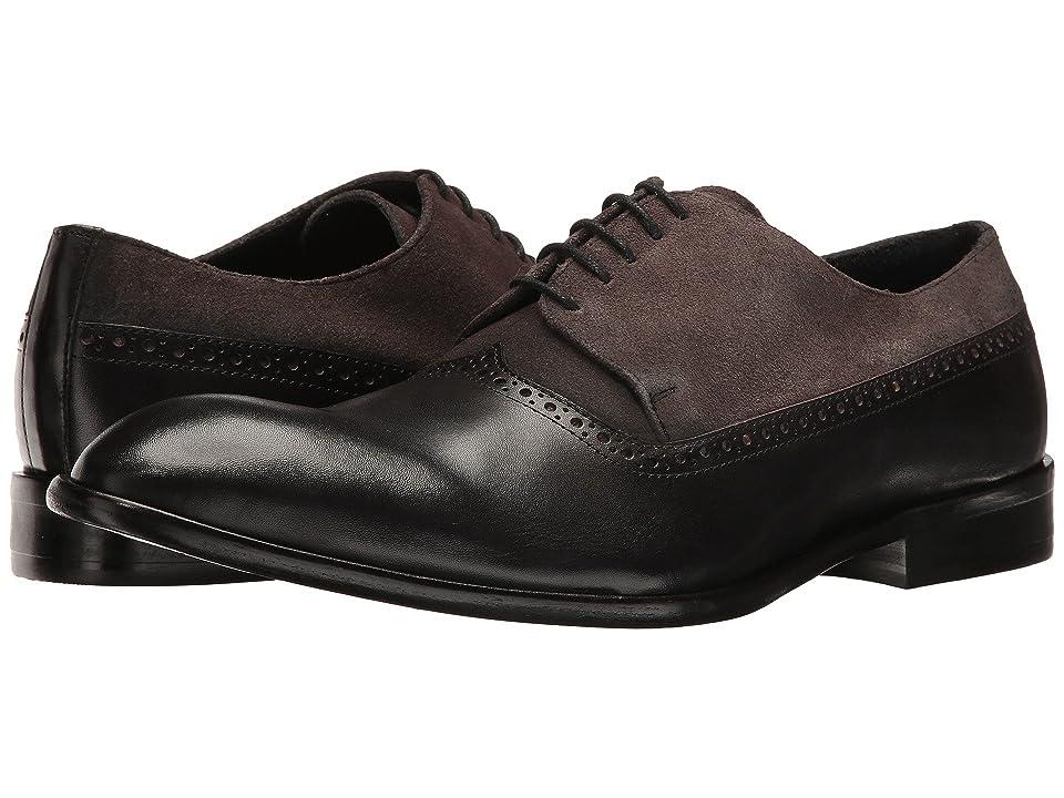 Messico Palmiro (Black Leather/Grey Suede Leather) Men