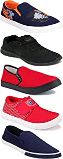 Shoefly Sports Running Shoes/Casual/Sneakers/Loafers Shoes for Men&Boys (Combo-(5)-1219-1221-1140-472-1017)
