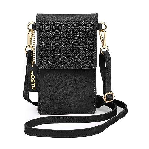 Small Women Crossbody Phone Purse Shoulder Bag Armband For Travel Work Sport J
