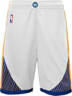 NBA 2018 Steph Curry Golden State Warriors Youth Home Short, X-Large=18-20