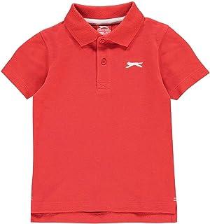 Slazenger Boys Plain Polo Shirt