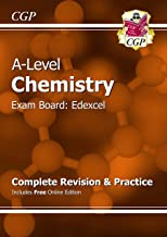 A-Level Chemistry: Edexcel Year 1 and 2 Complete Revision and Practice with Online Edition