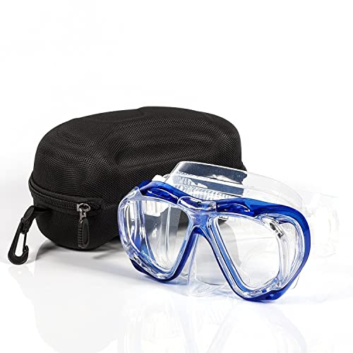 7f29b2199a66 Calypso Adult Diving Mask - Scuba Mask - Freediving - Super Soft Silicone  for Ultimate Comfort