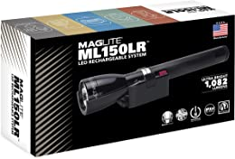 Maglite ML150 Lampe Torche Rechargeable Noir Taill
