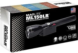 Maglite ML150 zaklamp, oplaadbaar, zwart, eenheidsmaat