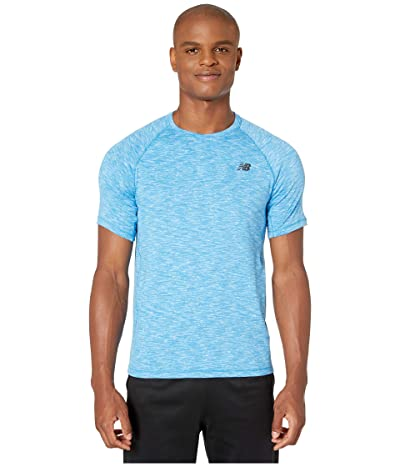 New Balance Anticipate 2.0 Tee (Lapis Blue Heather) Men