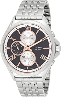 Casio Men's Quartz Watch, Analog Display and Stainless Steel Strap