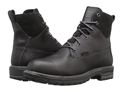 Timberland PRO Hightower 6 Alloy Safety Toe Waterproof (Black Full Grain Leather) Women
