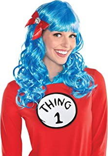 Costumes USA Curly Dr. Seuss Thing 1 and Thing 2 Wig