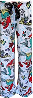 Richard Leeds Little Mermaid Ariel Ladies Fleece Lounge Pants For Women