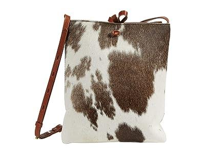 Madewell Slim String Crossbody (Dark Coffee Multi) Handbags